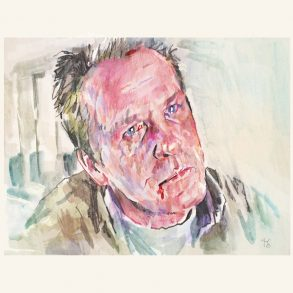 Nick Nolte in Affliction | art by Tony Stella