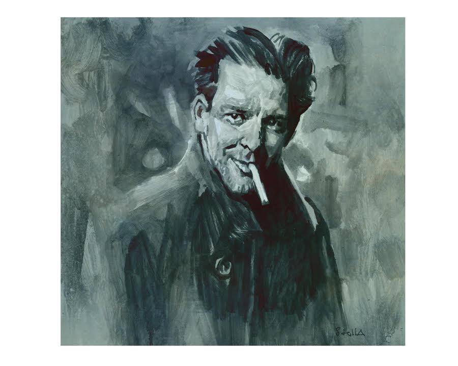Mickey Rouke | art by Tony Stella