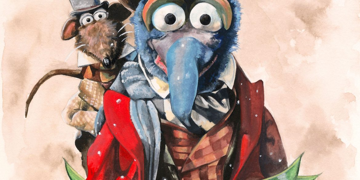 The Muppet Christmas Carol | art by Brianna Ashby