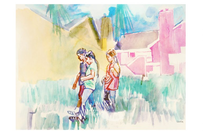 The Florida Project   art by Tony Stella
