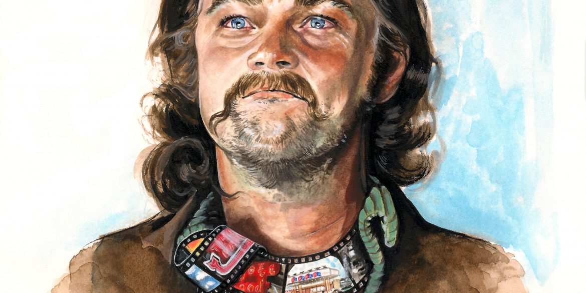 Leonardo DiCaprio as Rick Dalton in ONCE UPON A TIME...IN HOLLYWOOD | art by Brianna Ashby