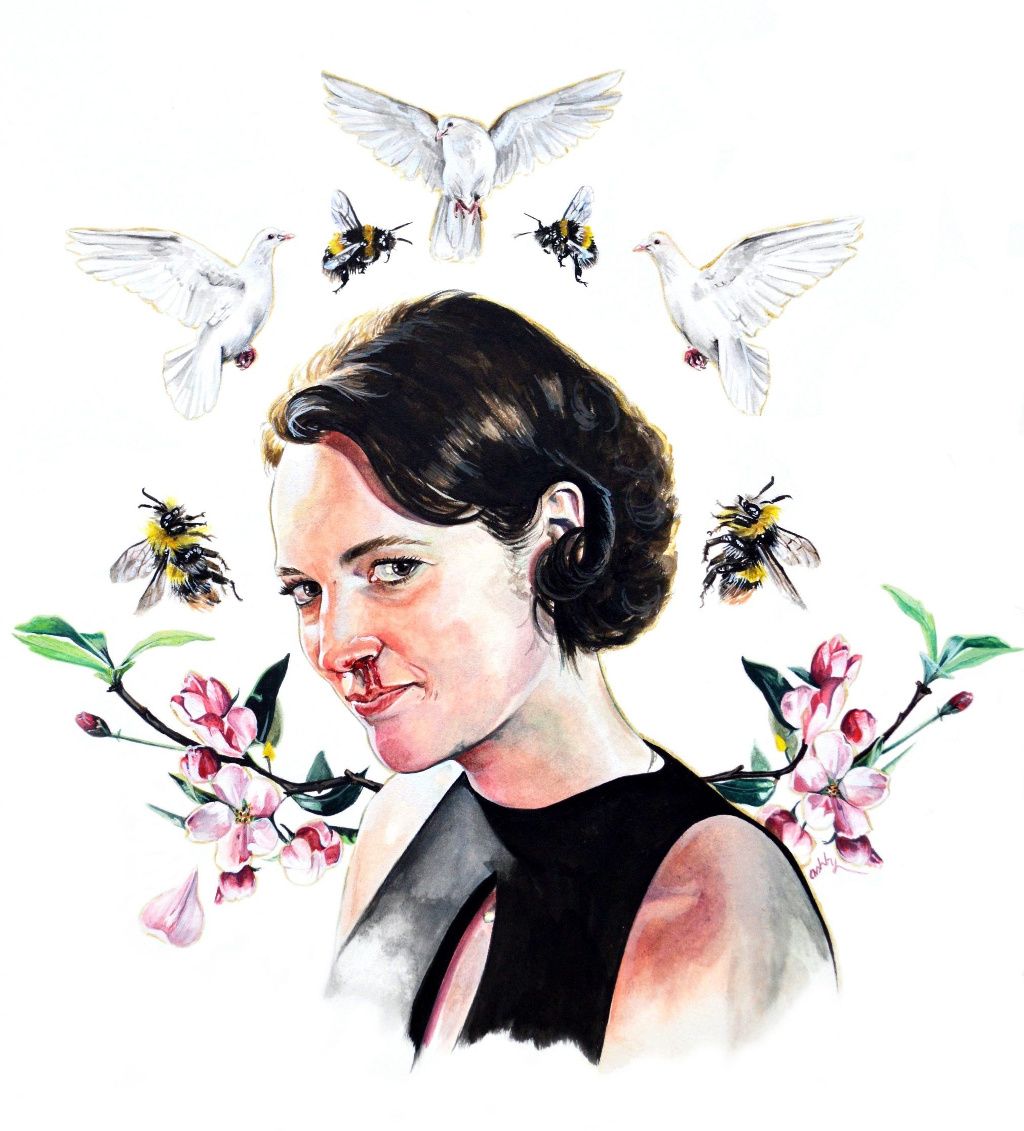 Fleabag | art by Brianna Ashby