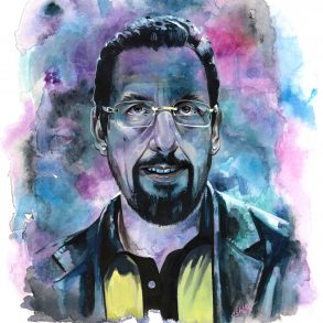 Adam Sandler in Uncut Gems | art by Brianna Ashby