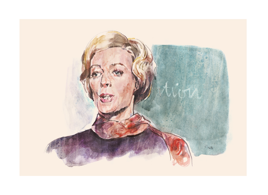 The Prime of Miss Jean Brodie | art by Tony Stella