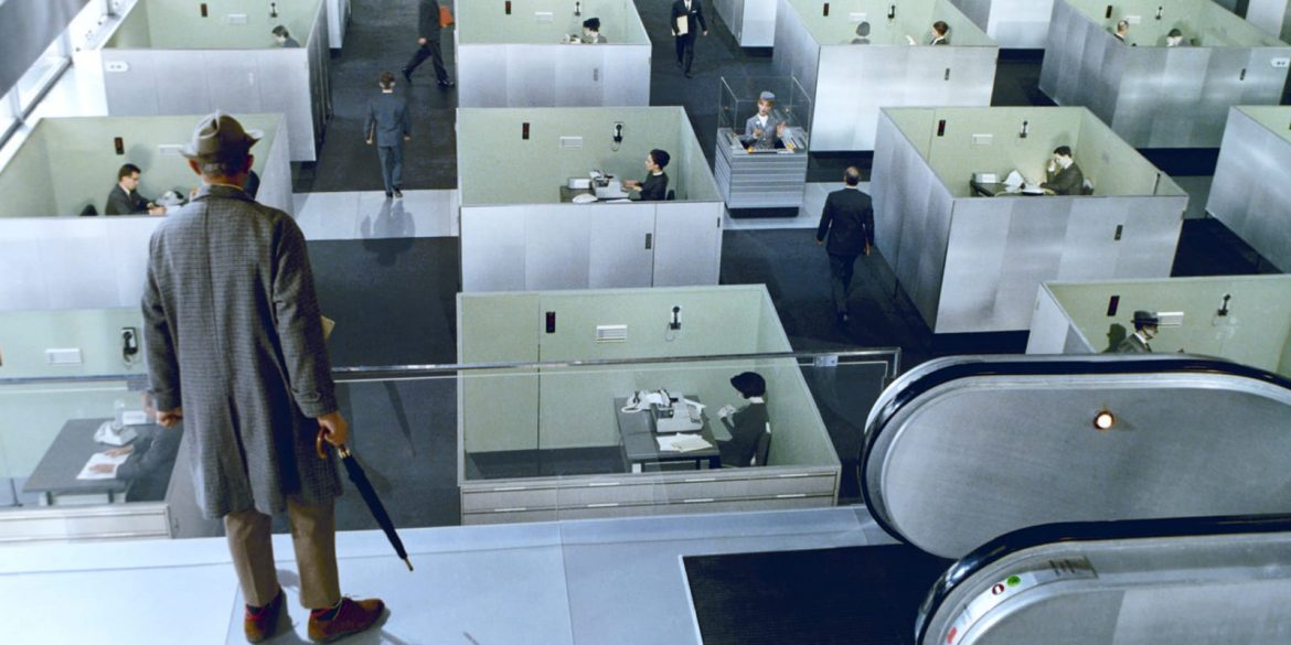 Jacques Tati in Playtime (1967) | Criterion
