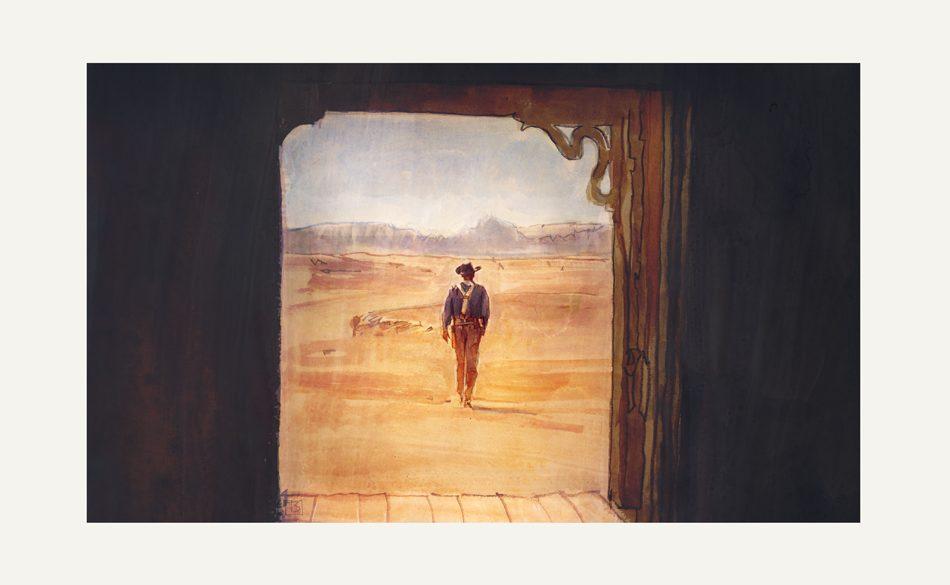 The Searchers | art by Tony Stella
