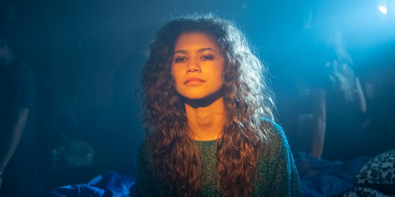 Zendaya in EUPHORIA | HBO