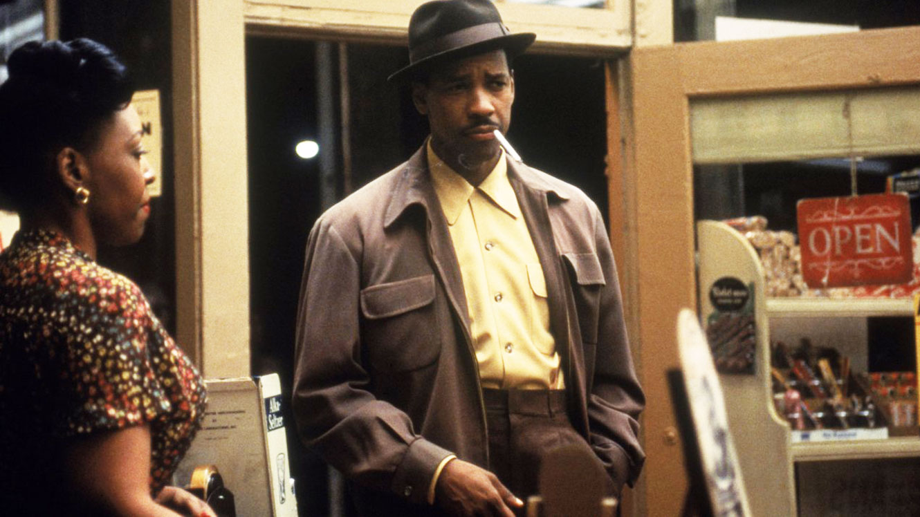 Denzel Washington in Devil in a Blue Dress
