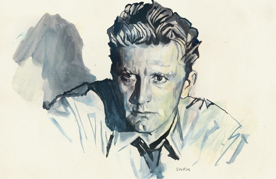 Kirk Douglas in ACE IN THE HOLE | art by Tony Stella