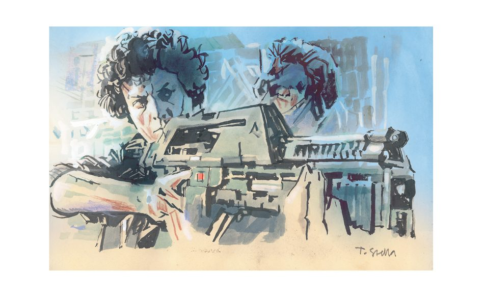 Ellen Ripley | illustration by Tony Stella