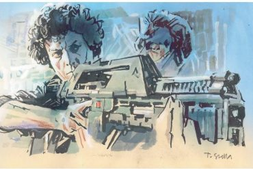 Ellen Ripley | illustration by Tony Stella