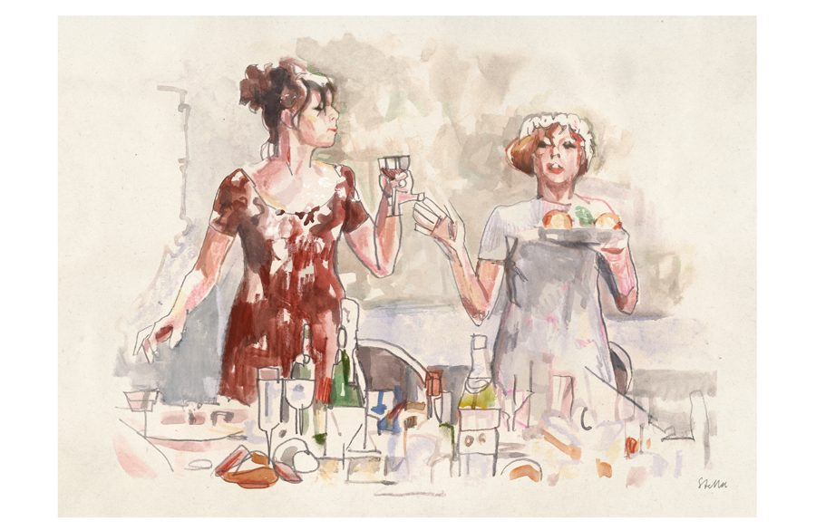 Daisies (1966) | art by Tony Stella