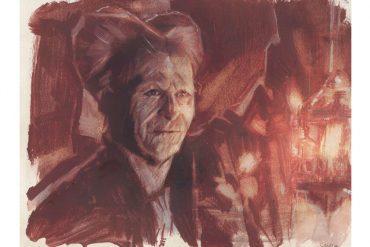 Gary Oldman as Dracula   art by Tony Stella