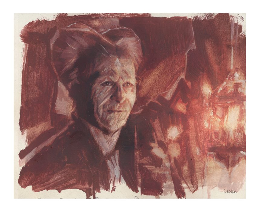 Gary Oldman as Dracula | art by Tony Stella
