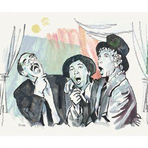 A Night at the Opera (1935)   art by Tony Stella