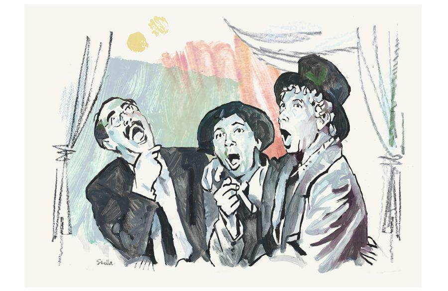 A Night at the Opera (1935) | art by Tony Stella
