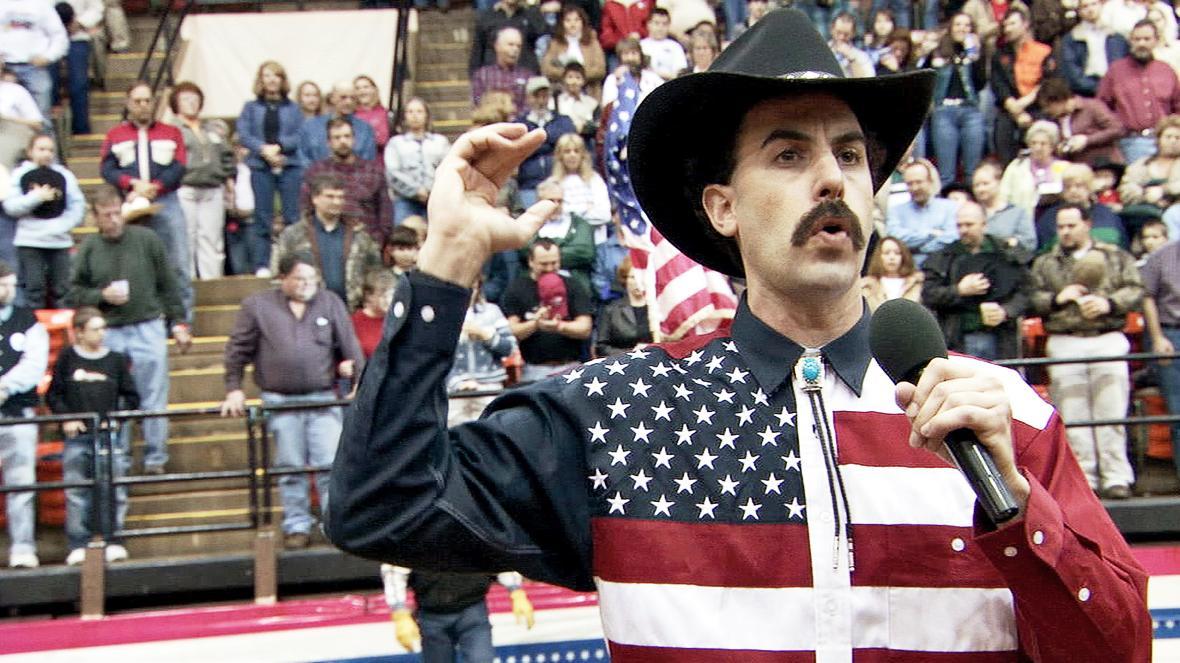 Sacha Baron Cohen in Borat (2006)