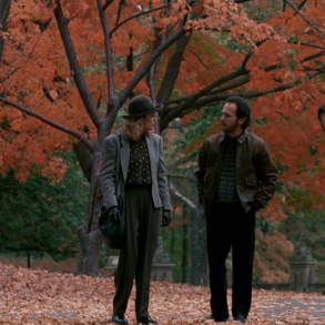 Meg Ryan and Billy Crystal in When Harry Met Sally, written by Nora Ephron and directed by Rob Reiner