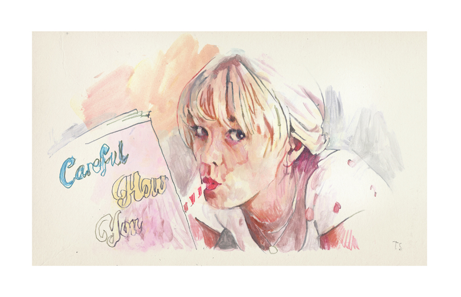 Carey Mulligan in Promising Young Woman | art by Tony Stella