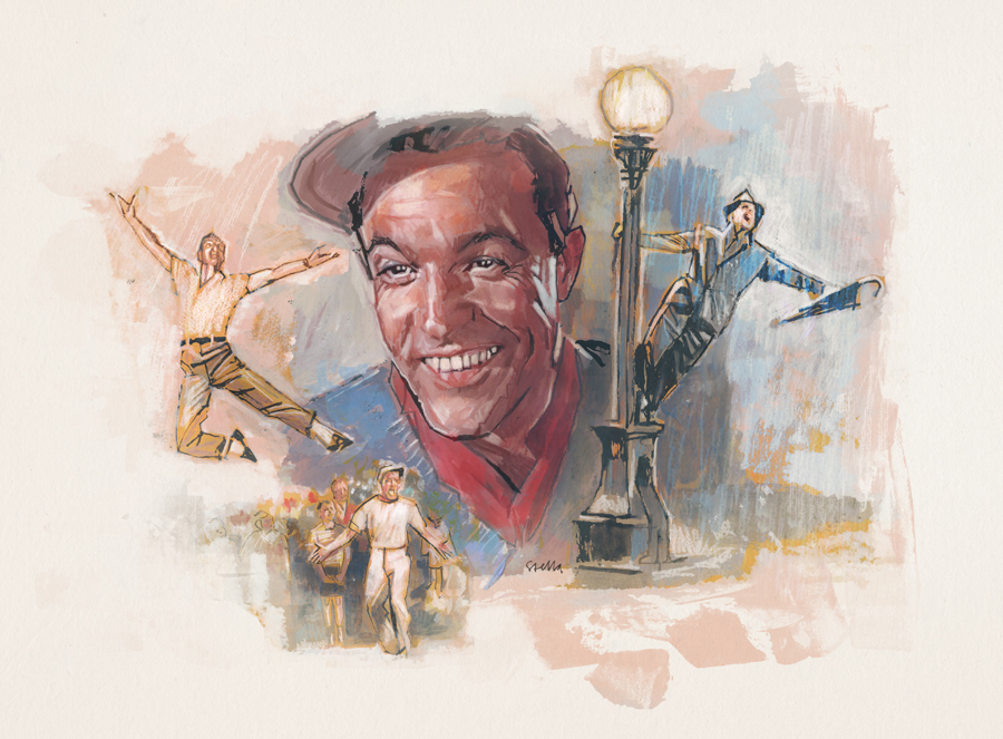 Gene Kelly | Art by Tony Stella