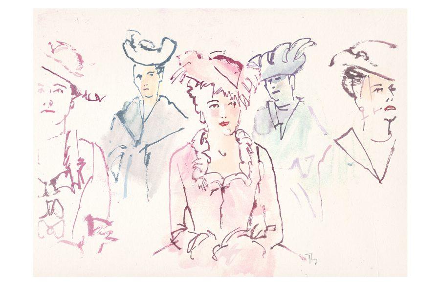 Marie Antoinette | art by Tony Stella