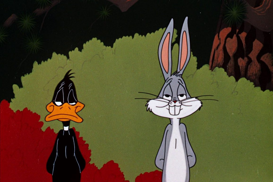 Daffy Duck and Bugs Bunny