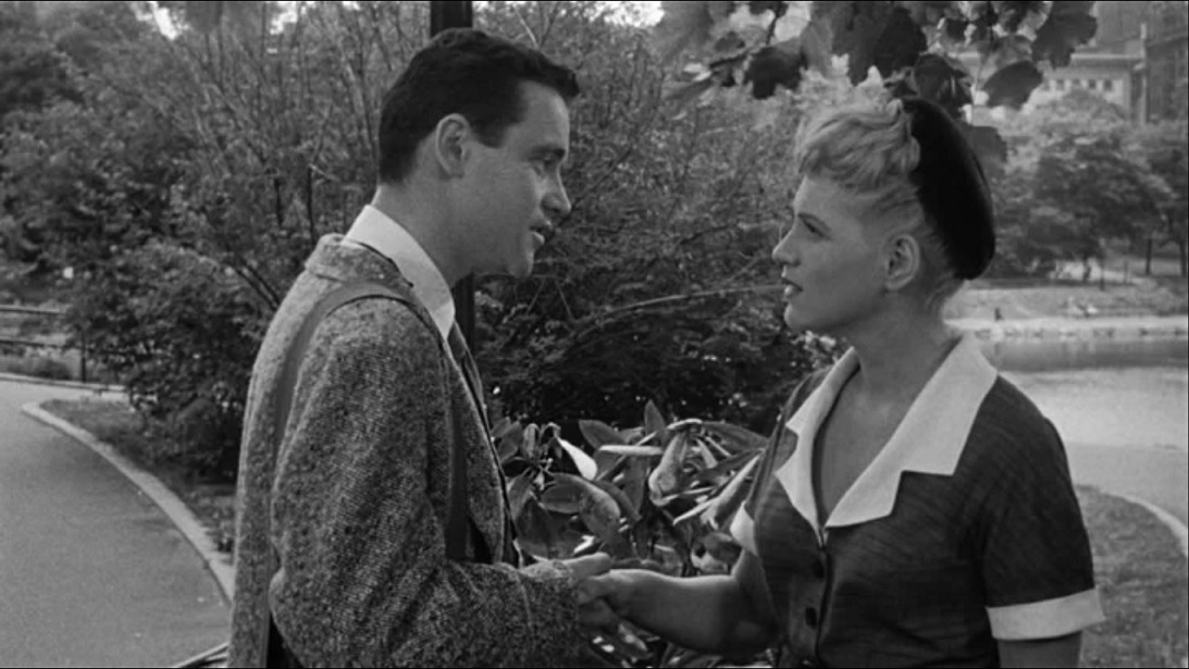 Jack Lemmon and Judy Holliday in It Should Happen to You (1954) | Columbia Pictures