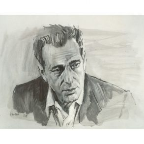 In A Lonely Place (1950)   Art by Tony Stella